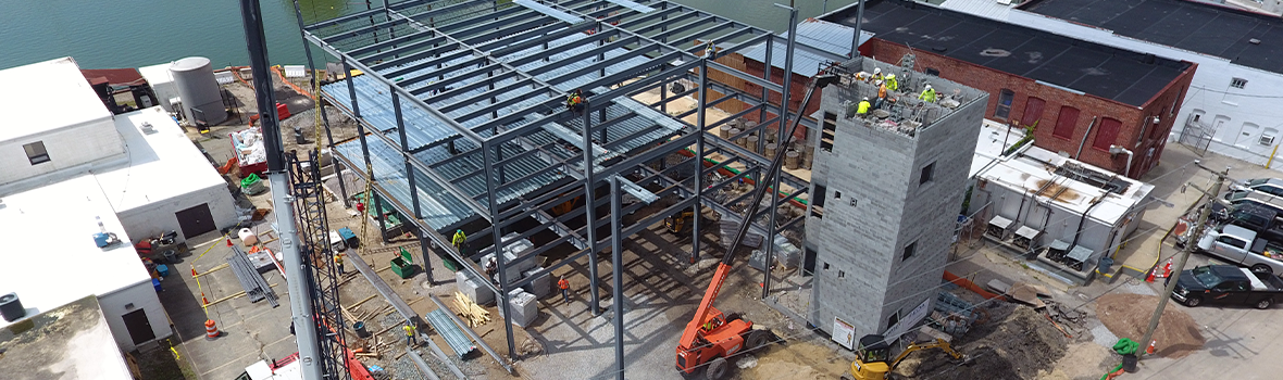 E.T. GRESHAM COMPANY, Inc. is currently providing construction management services for Virginia Tech's new Virginia Seafood Agricultural Research & Extension Center in Hampton, VA.