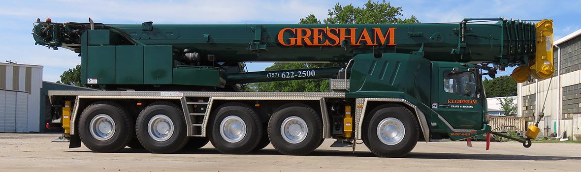 Our 165-Ton Crane