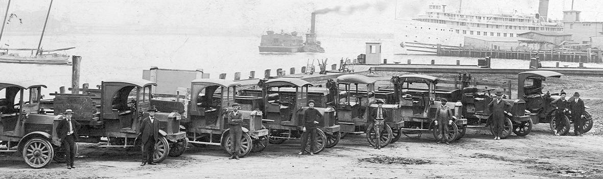 Vehicle Fleet, circa 1919