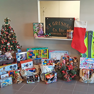 Gresham Gives Back – Toys for Tots 2020