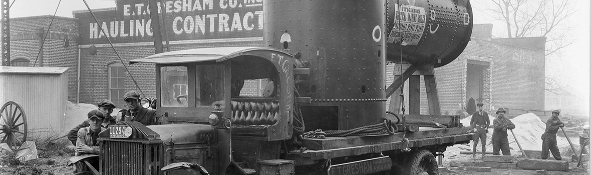 E.T. GRESHAM COMPANY, Inc. was established on October 16, 1916 as one of Norfolk's first 'motor-truck' companies.