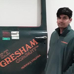 Welcome Vamsi Krishna Vuggaraju, Estimating Assistant