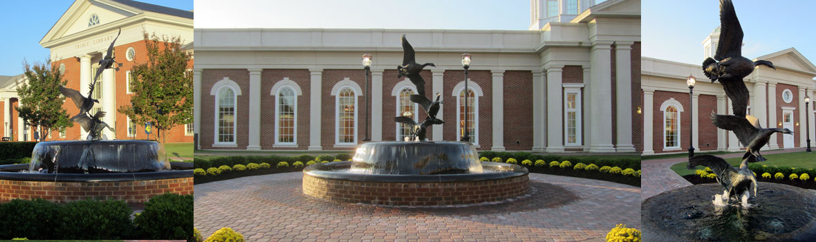 Plaza Improvements at Christopher Newport University, Newport News, VA