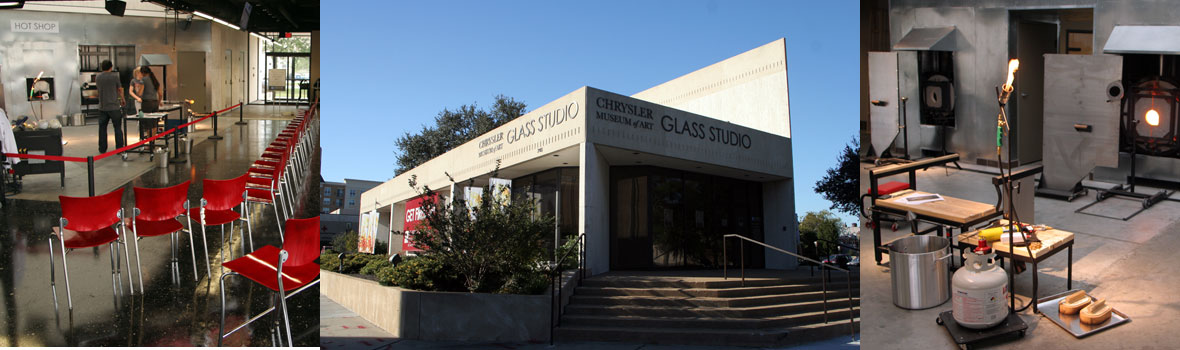 Chrysler Museum of Art Glass Studio, Norfolk, Virginia