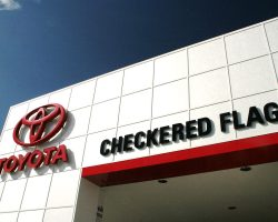 Checkered Flag Toyota